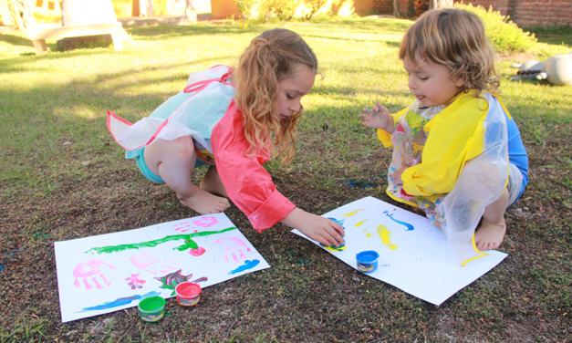 Pintura Dactilar: La Importancia de los Sentidos