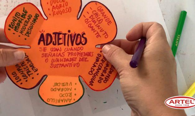 Quinto Básico: Flor Adjetivos