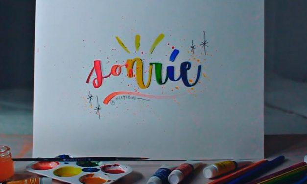 Caligrafía en Acuarela con Mi Lettering