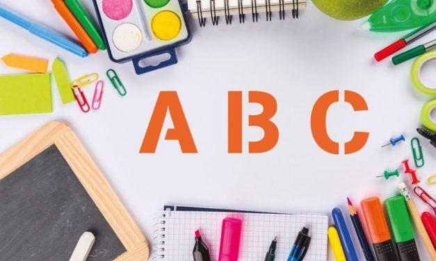 Guía para crear letras como material educativo