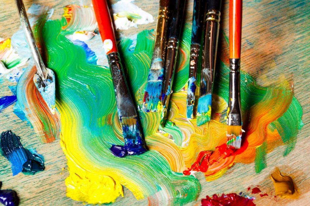 pintura sobre oleo