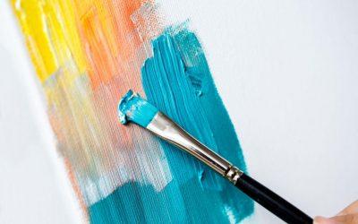 Técnica de pintura de oleo sobre tela